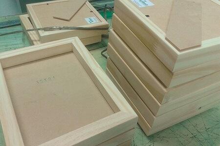 cuadro de madera - Escuela de Estampados